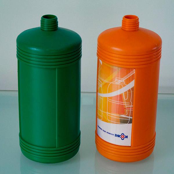Envase cilindrico estriado 1000 cc - Incodi S.A.S.